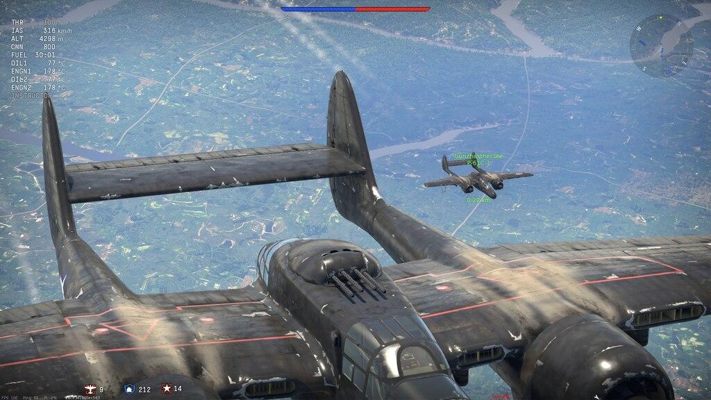 War thunder p 61 radar