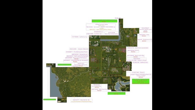 Steam Workshop All In Zomboid Map Pack Enhanced Outdated