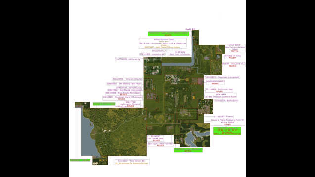 Steam Workshop All In Zomboid Map Pack Enhanced - All us steam servers map