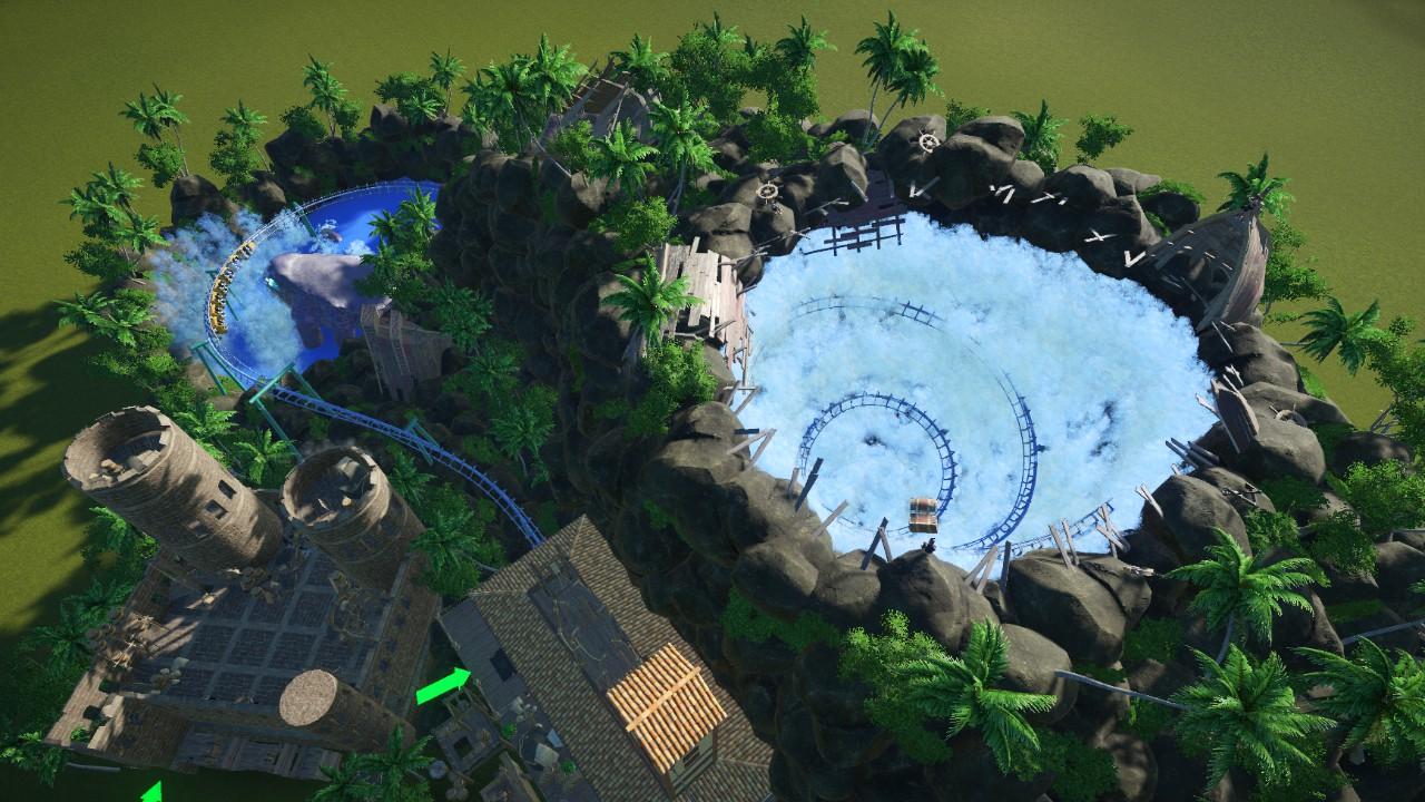 Whirlpool - Boomerang coaster
