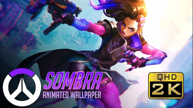 Steam Workshop Sombra Animated Wallpaper Qhd 1440p