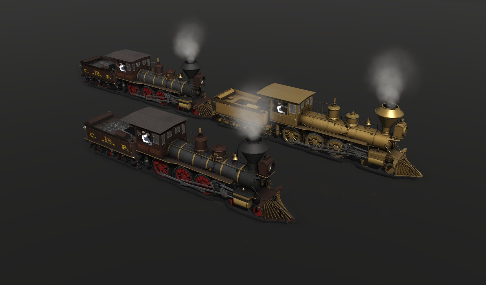 Steam Locomotives | Trainz Forge