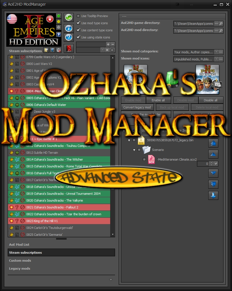 Mod Organizer 2 Mod Directory
