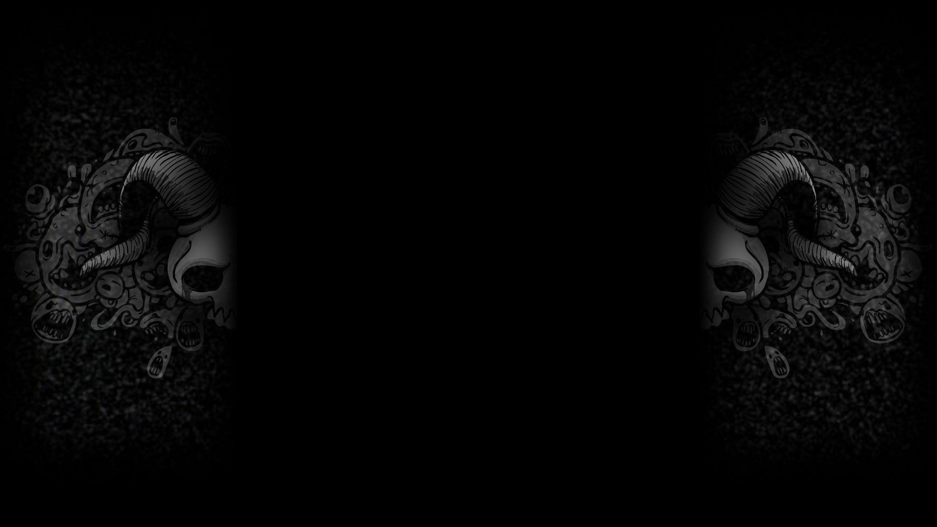 Venom Black And White Hd Wallpaper
