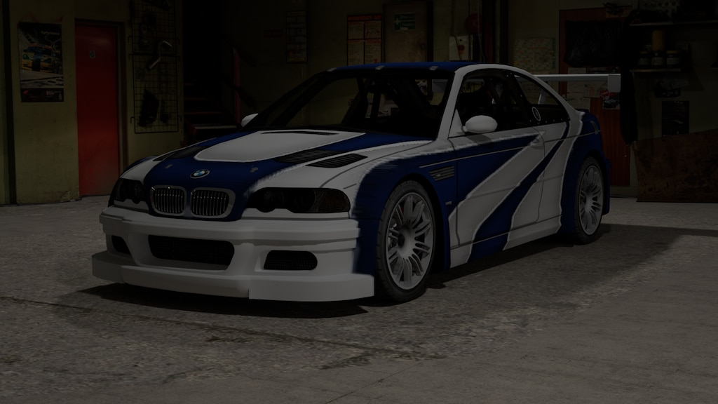 Steam Community Bmw M3 E46 Gtr Need For Speed Carbon Model