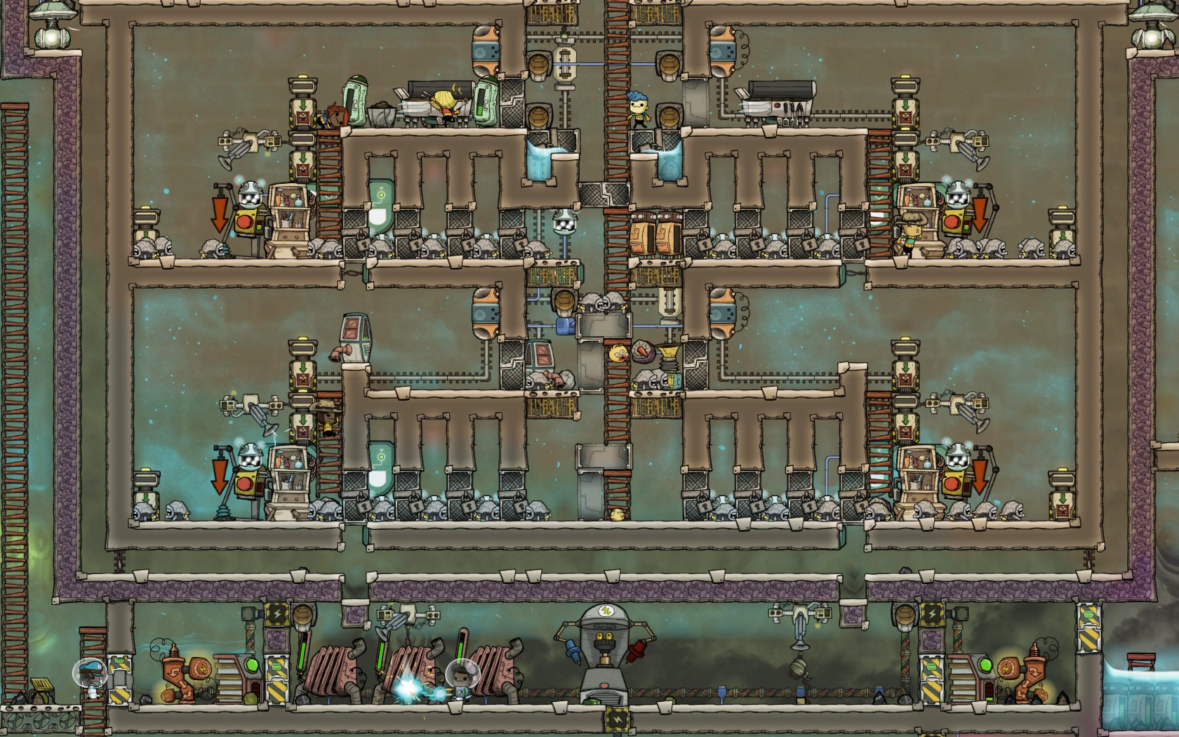 Wrangle Free Auto Morph Hatch Ranch V2 0 Oxygen Not Included General Discussion Klei Entertainment Forums