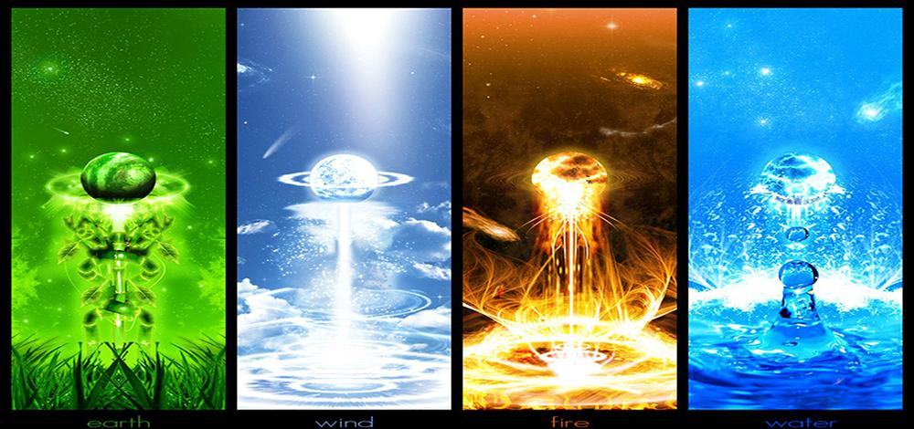 Фото магии огня земли воды и воздуха