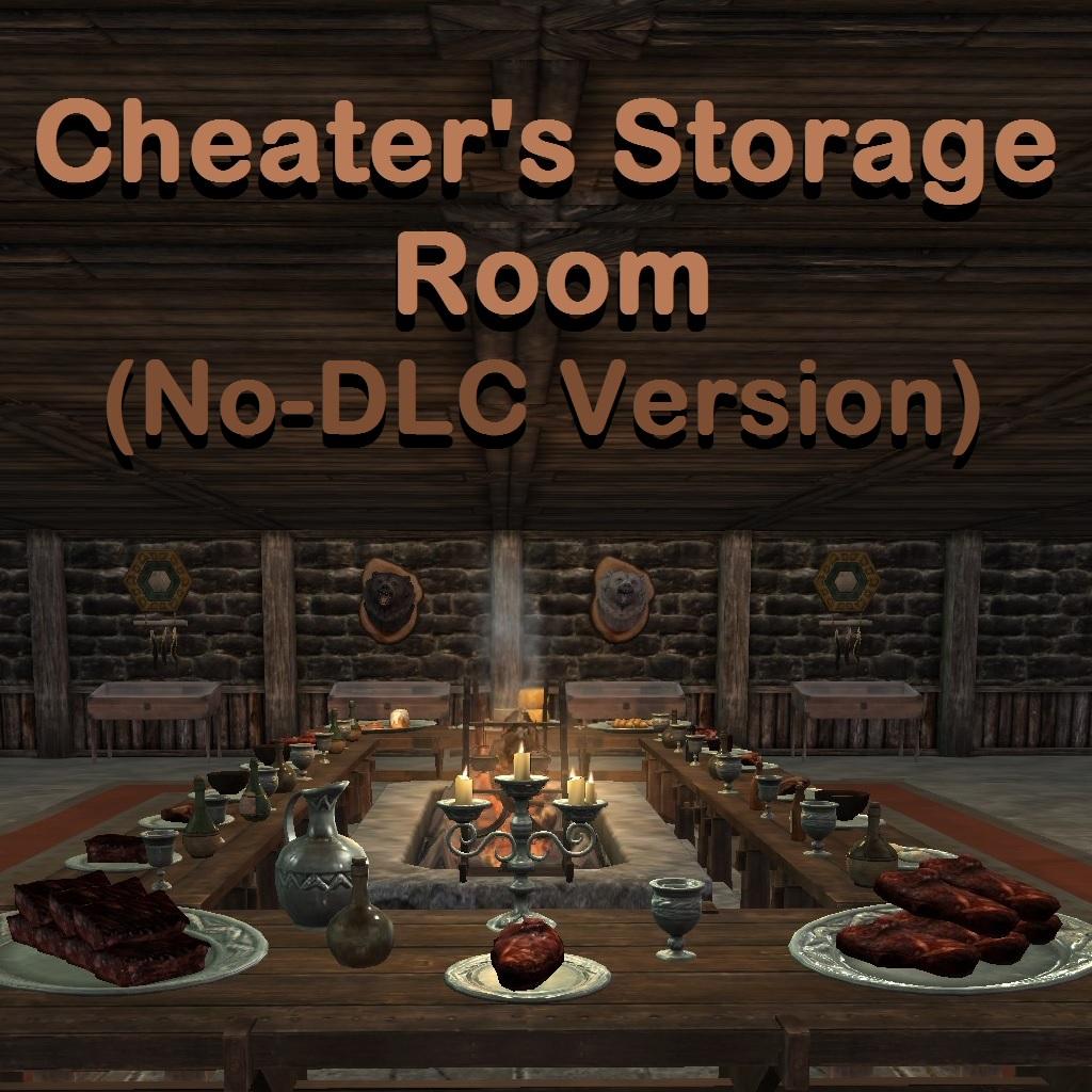 Cheater's Storage Room (No-DLC Version)画像