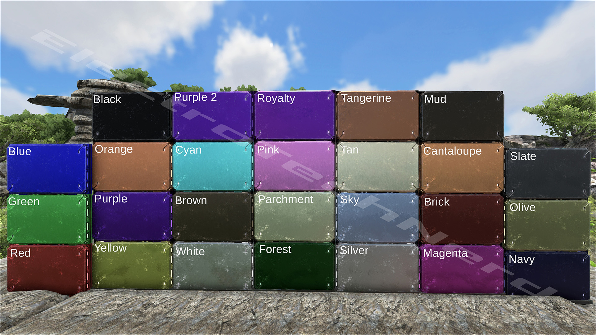 tek other guides ark paint templates click here