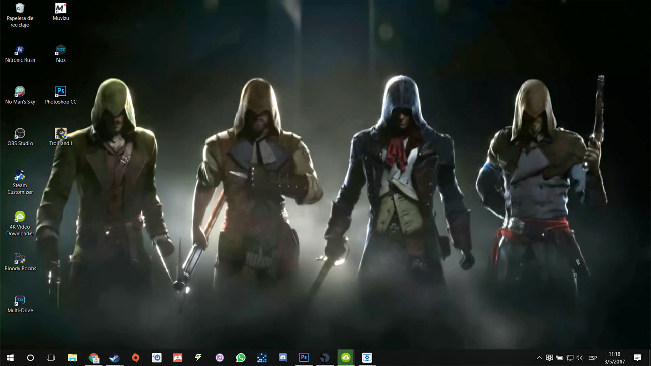 Steam Workshop Assassin S Creed Unity Live Wallpaper 1080p