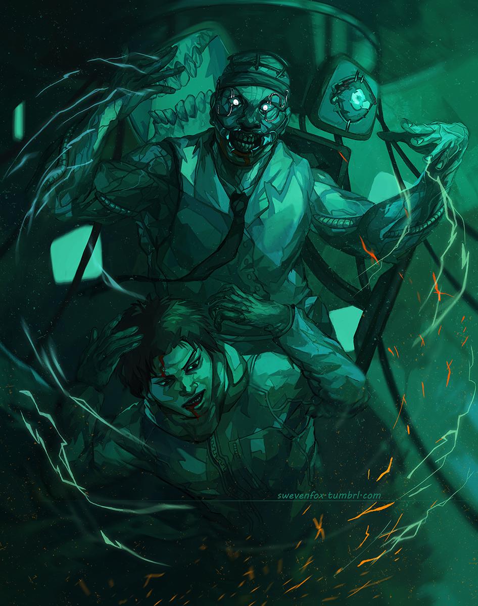 Pin by Elijah Felix on Dead by Daylight | Horror art, Game