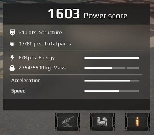 Steam community guide crossout game guide power score ps describes the vehicles approximate poweris value is the sum of the ps of all parts installed on the vehicle malvernweather Gallery