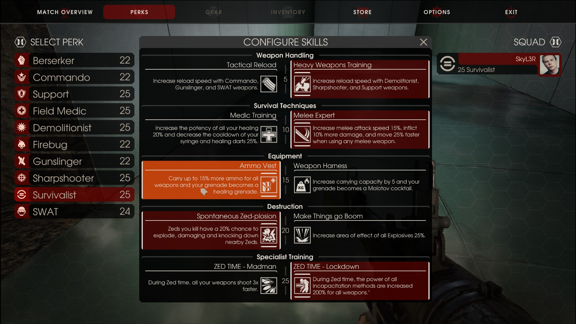 Steam Community Guide How To Get Extra Ammo Capacity Without Having The Skill For It