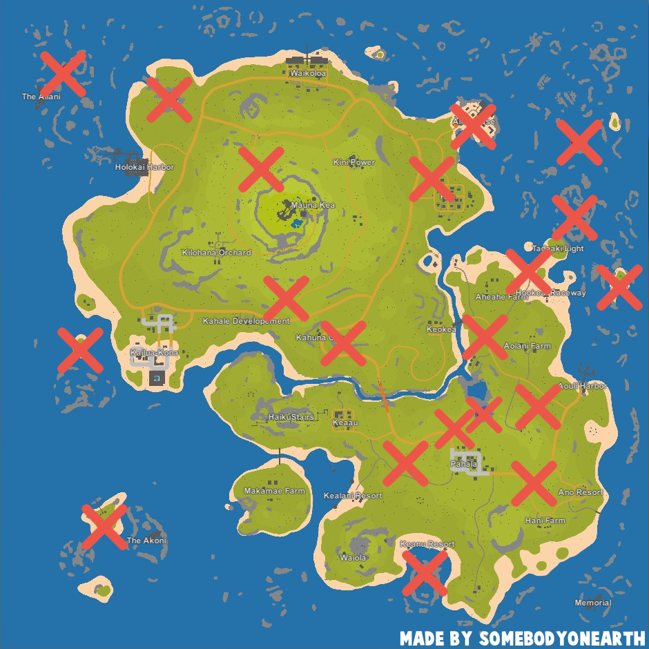 Steam Community Guide Every Airdrop Location OUTDATED