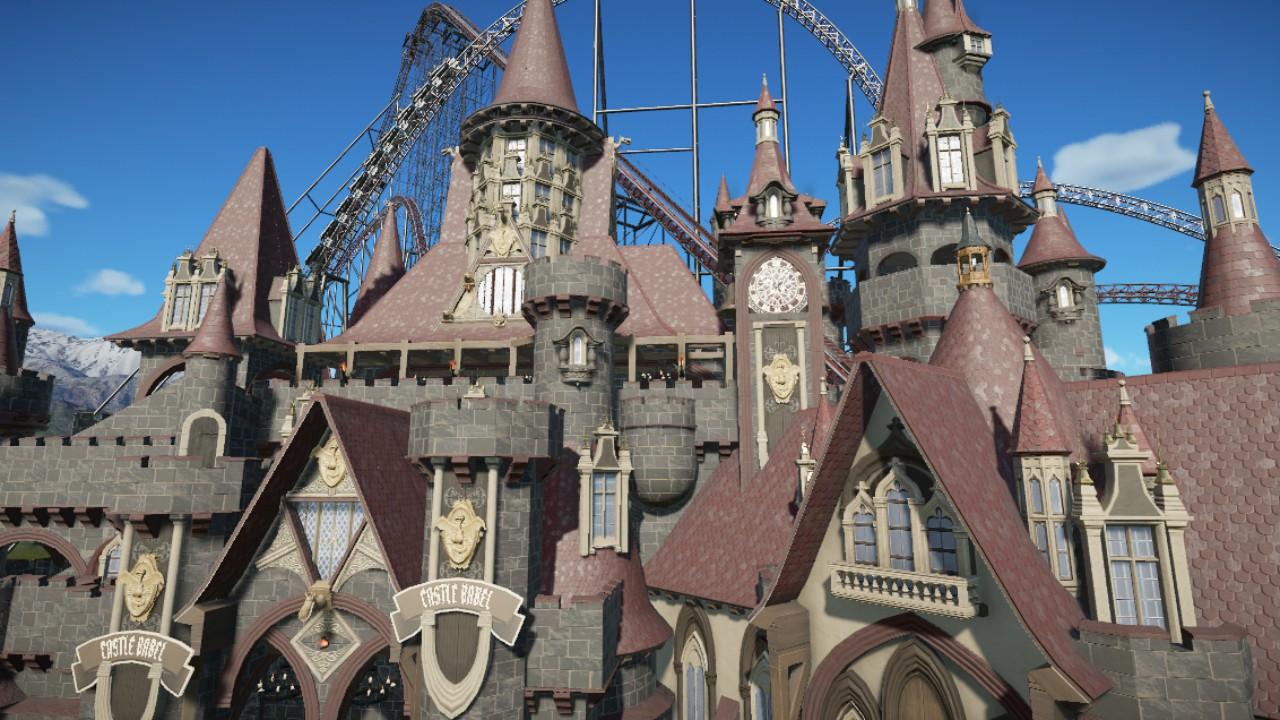 Castle Babel Giga Coaster