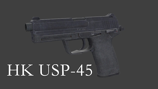 Steam Workshop :: HK USP 45 Tactical