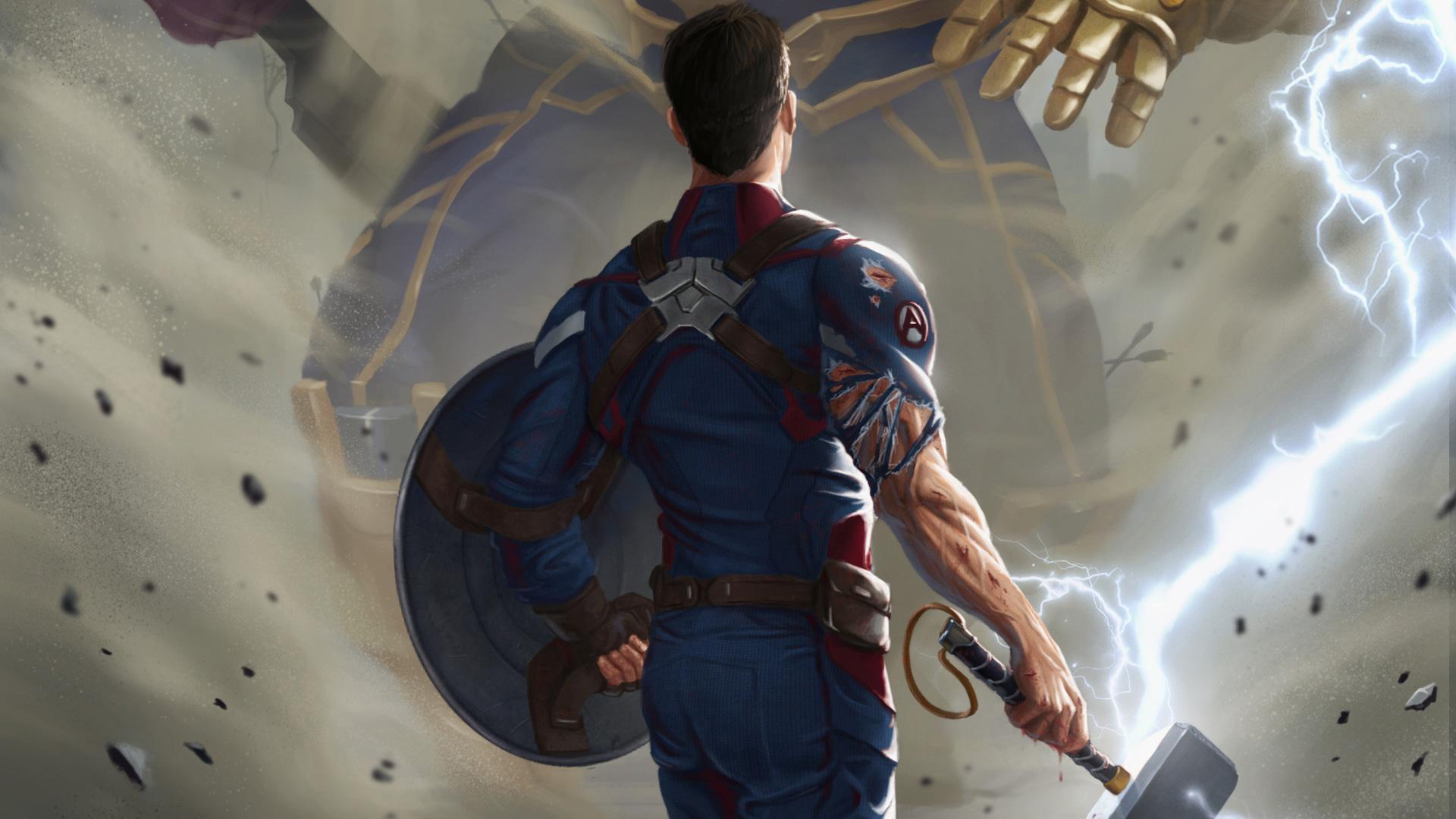 Steam Workshop :: Avengers: EndGame Captain America [spoiler]