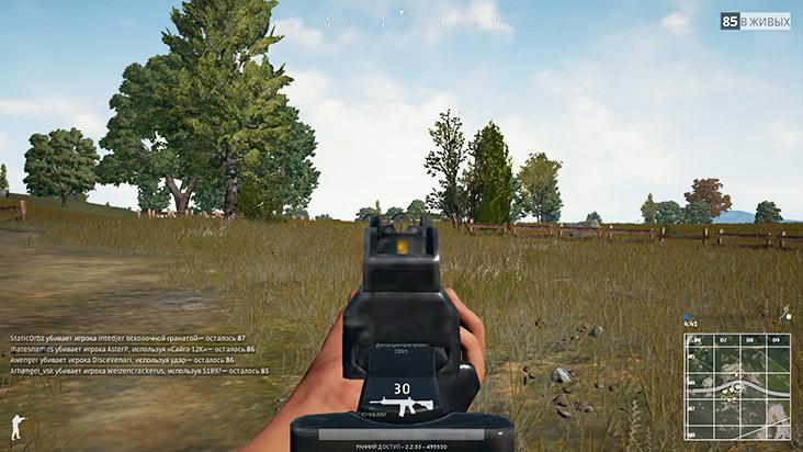 Все о стрельбе в Playerunknown's Battlegrounds (PUBG)
