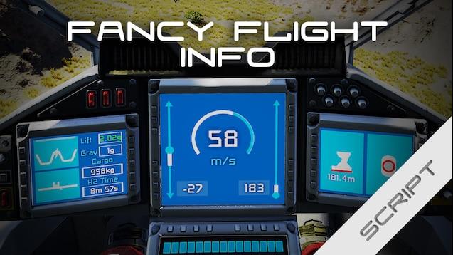 Steam Workshop Blarg S Fancy Flight Info