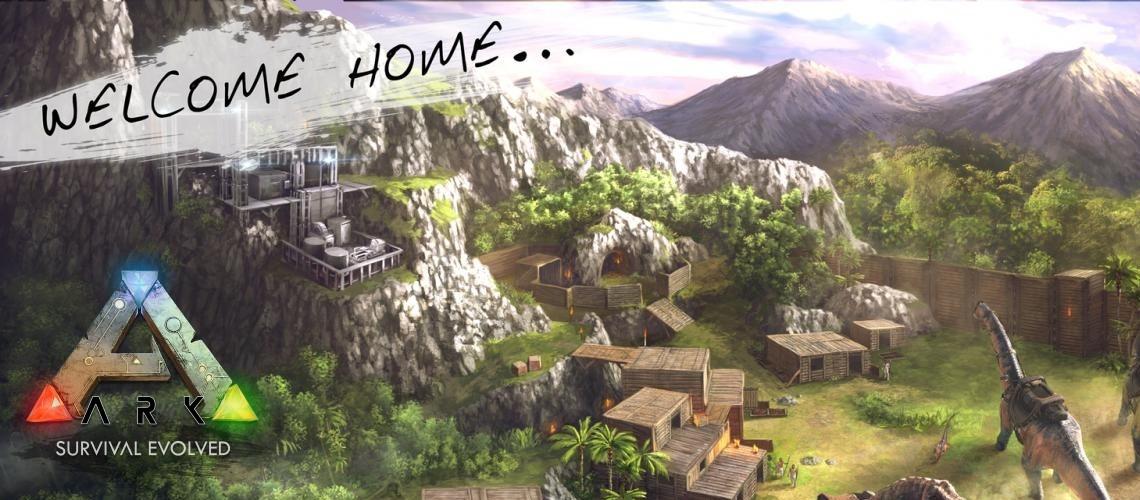 Image result for ark survival evolved banner