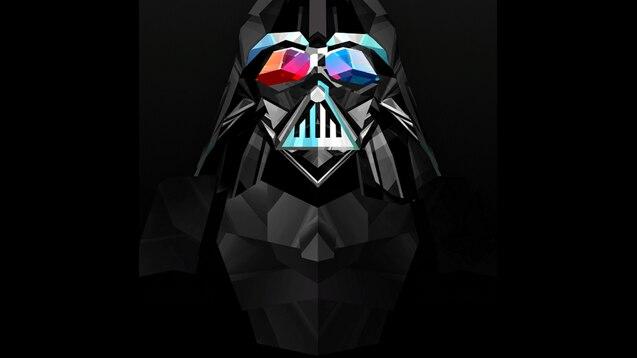 Steam Workshop Darth Vader Polygon Wallpaper
