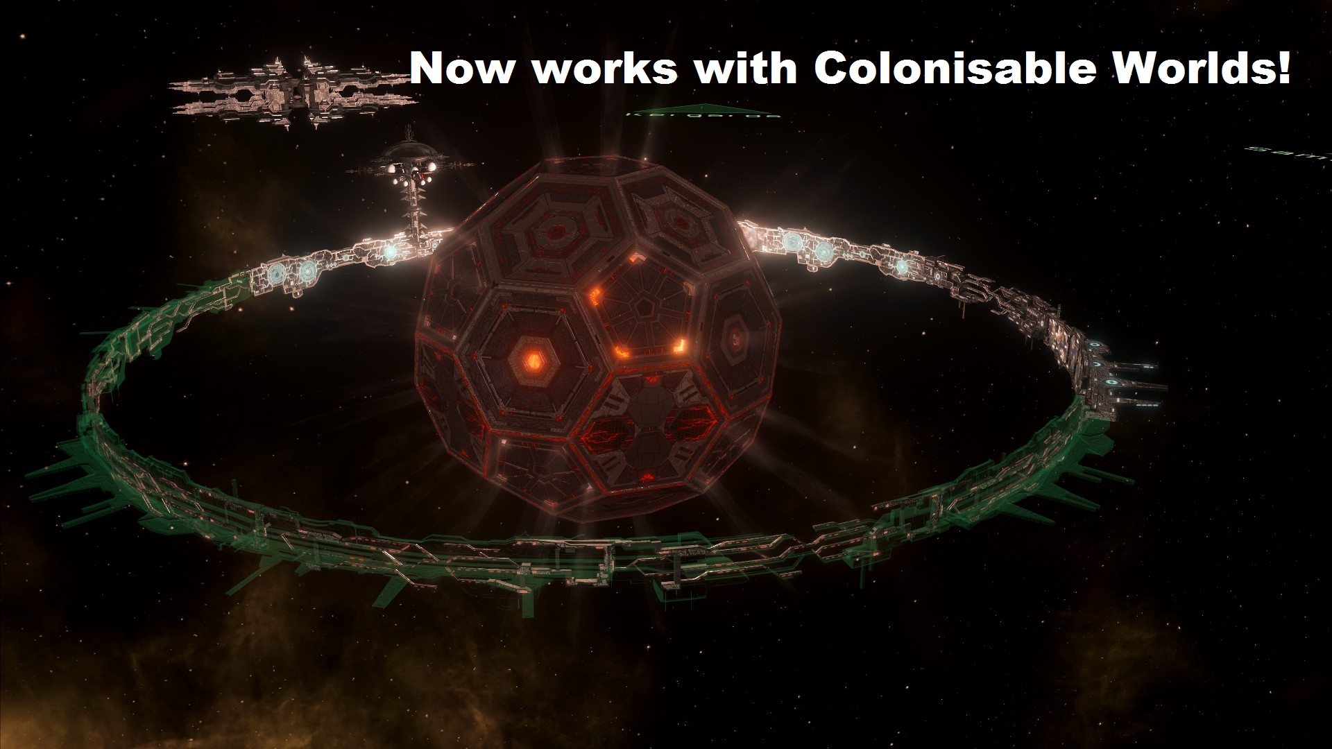 Steam Workshop Megastructures Placement For 2 7 0 Ringworlds can now be constructed around black holes. steam workshop megastructures