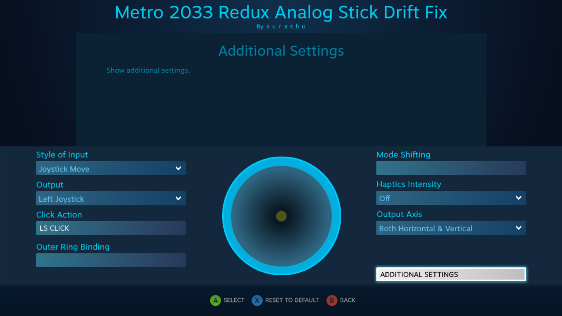 Steam Community :: Guide :: Left Analog Stick Drift Fix