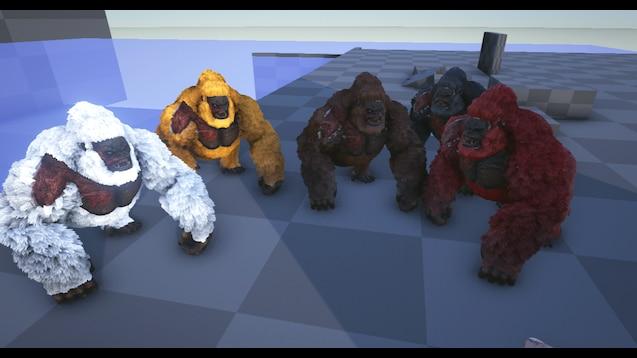 Torpid Snow Primates Found In Midwest >> Steam Workshop Tameable Gorillas