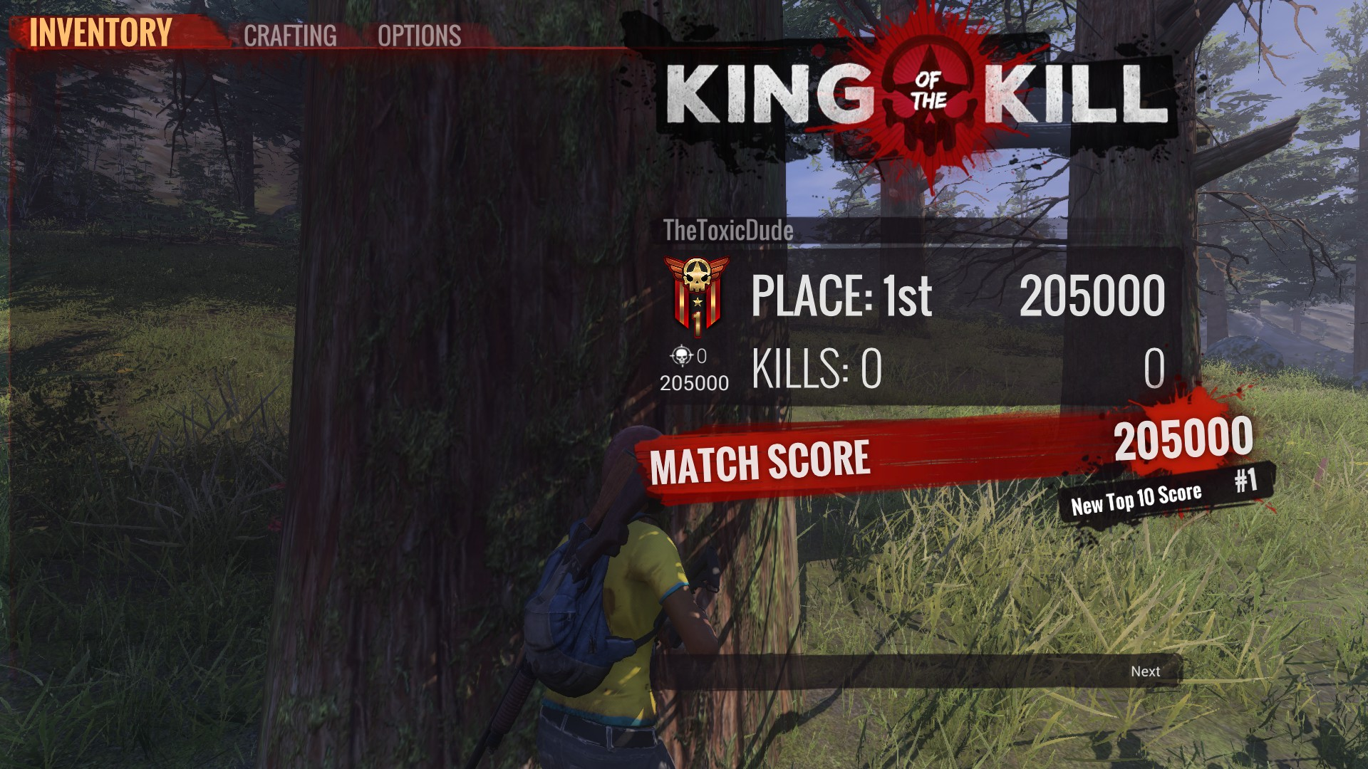 Soo I wanted to try h1z1 kotk again after a while   : kotk