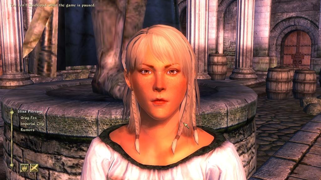 Steam Community :: Screenshot :: Oblivion Character Overhaul