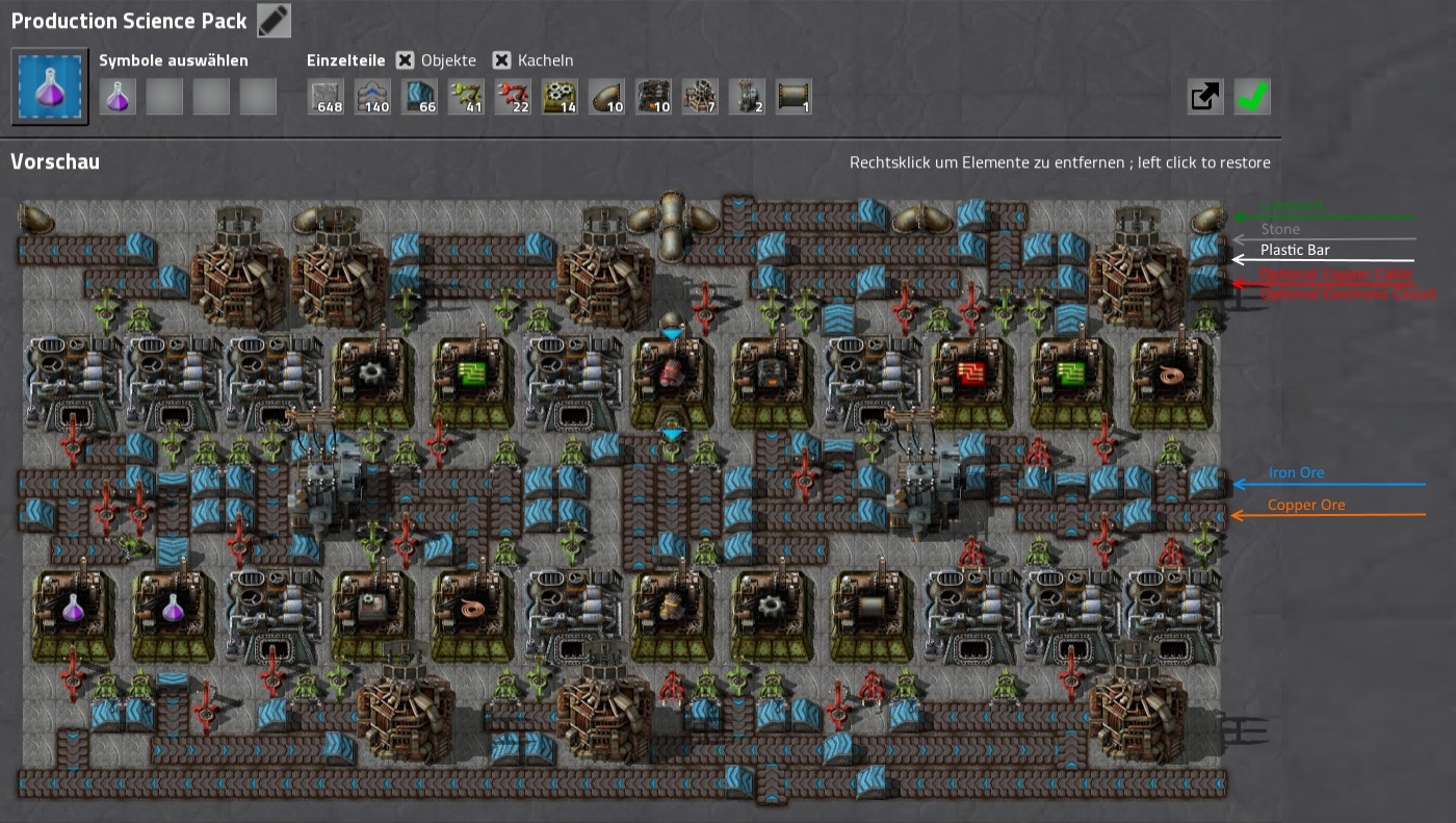 Steam community guide seamless space saving blueprints production science pack setup blueprintchrisgpoint important income lubricant stone plastic bar iron ore copper ore malvernweather Images