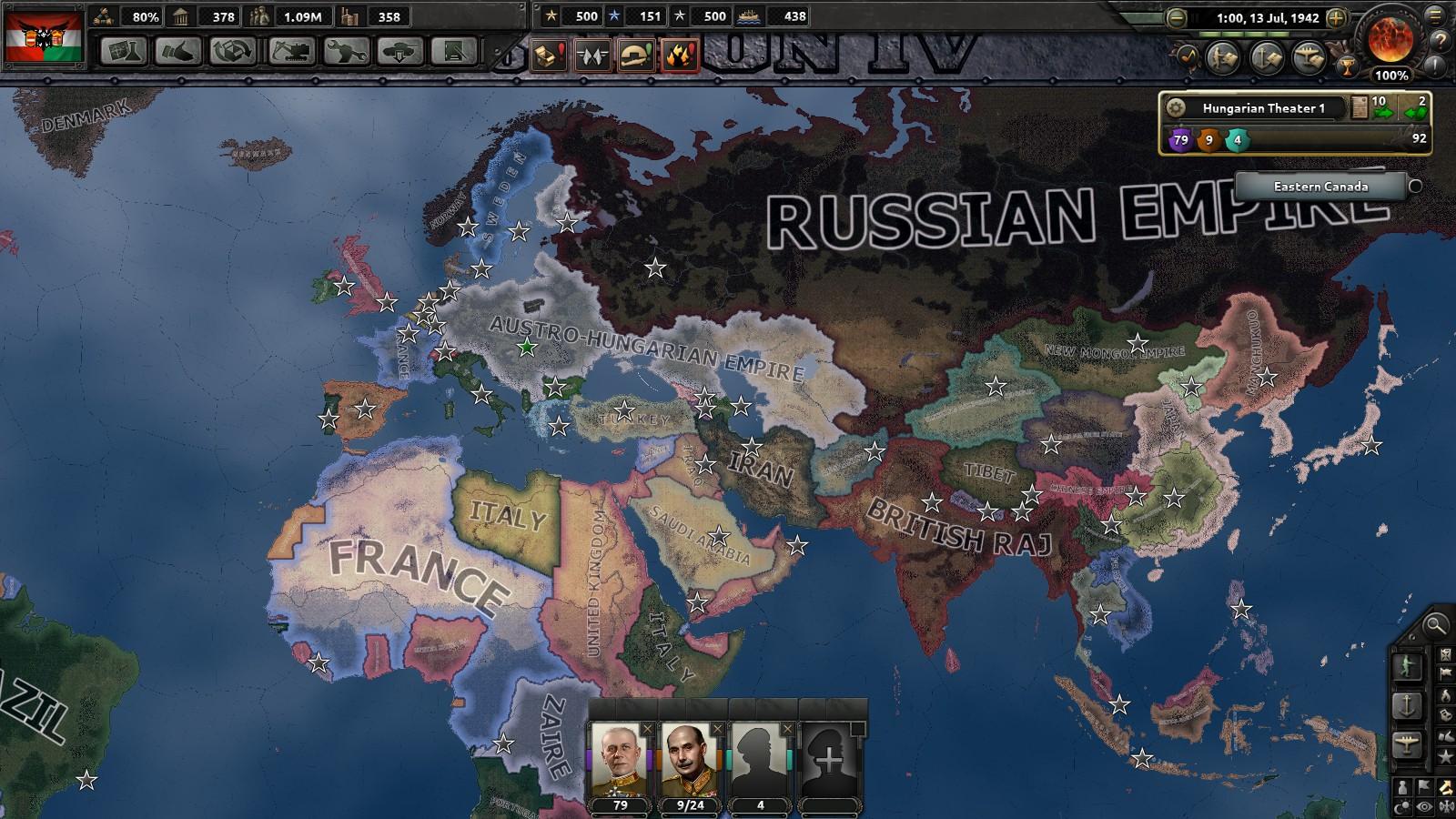 Hearts of Iron IV] Monarchist Germany vs Fascist Britain vs
