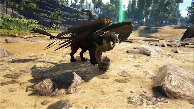 Gryphon from ark survival griffins t Ark Game ark and