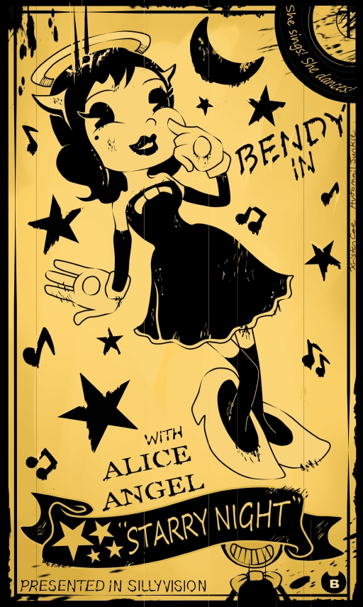 Steam Community :: :: Alice Angel - Bendy and The Ink Machine!
