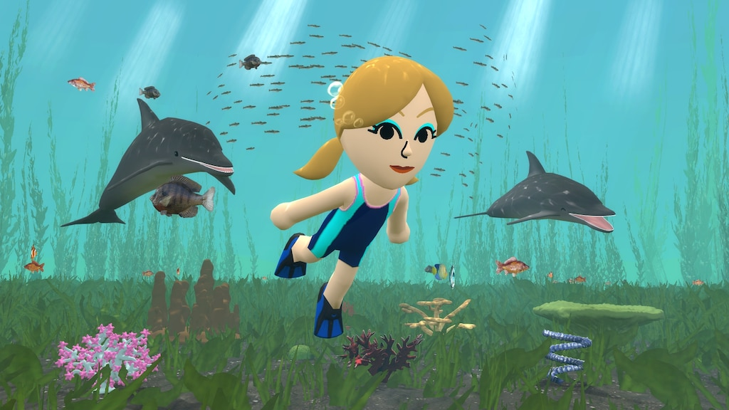 Steam Community :: Screenshot :: Jessica Freediving (shader-less