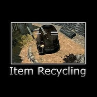Whitewolf's Edited Item Recycling画像