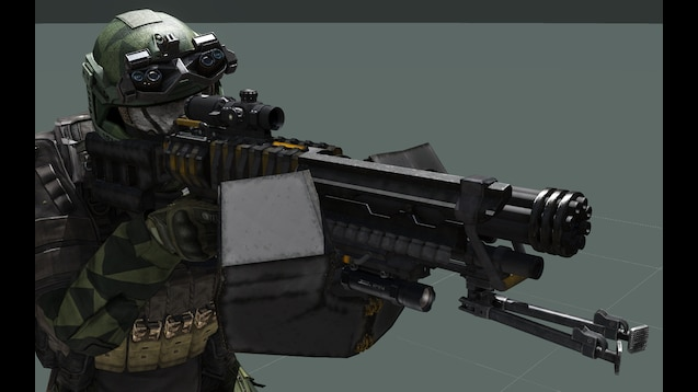 Steam Workshop Lago Ku5k Minigun