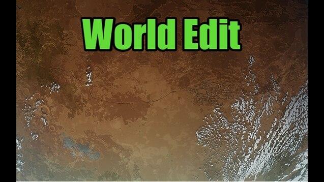 Steam Workshop :: [RU/EN] WorldEdit [MOVED]