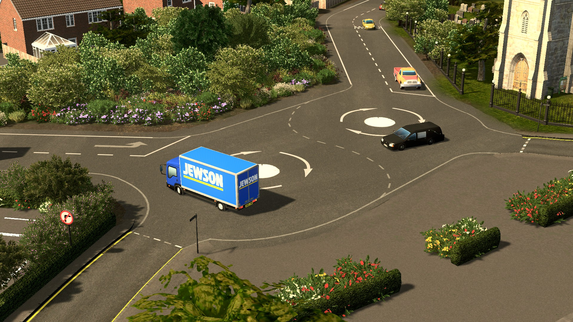 cities skylines how to make a roundabout