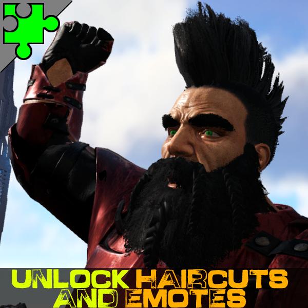 Unlock Haircuts and Emotes