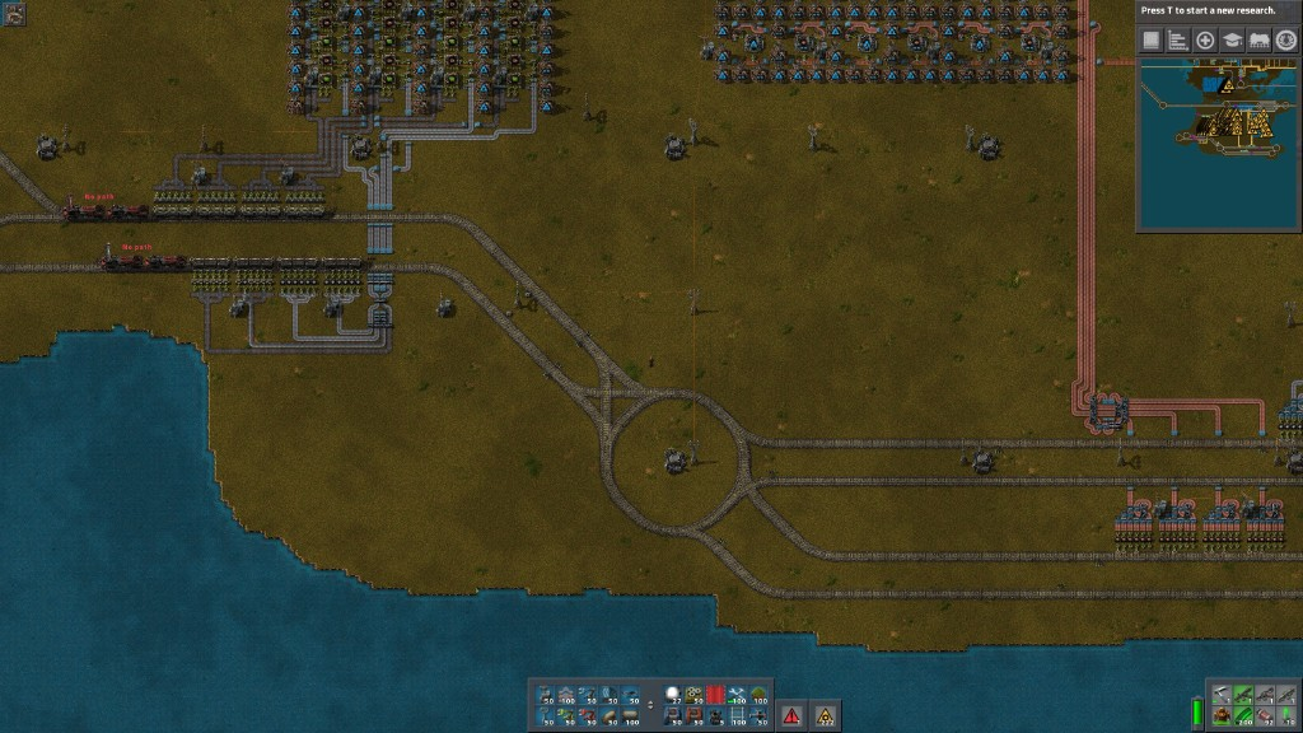 Help debugging a rail design - Factorio Forums