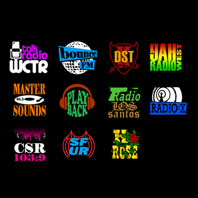 san andreas radio stations list