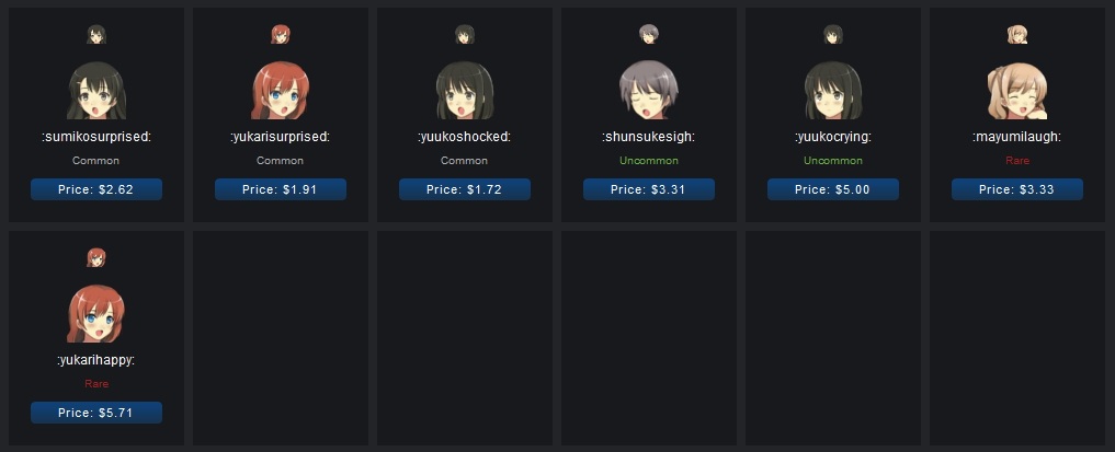Steam Community :: Guide :: Anime Emoticons