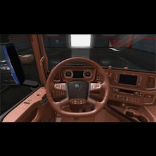 Tan Interior for Scania R and Scania S