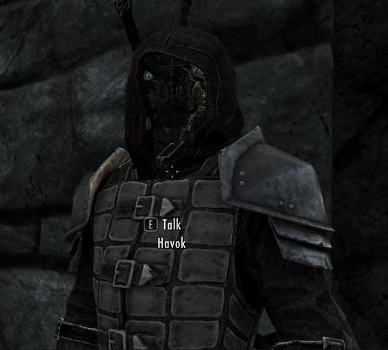 Havok Blackblood - A follower mod画像