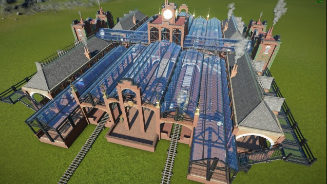 Steam workshop steampunkindustrial central train station 4k steam workshop steampunkindustrial central train station 4k blueprint malvernweather Image collections