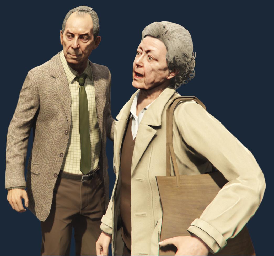 """8fe17903f Nigel and Mrs. Thornhill Pre: Trevor. Dostupné: Po """"Friends Reunited"""". Prvá  misia je len scénka, v ktorej spoznáte Nigela a pani Thornhillovú."""