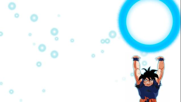Steam Workshop Animated Wallpaper Goku Genki Dama 1080p