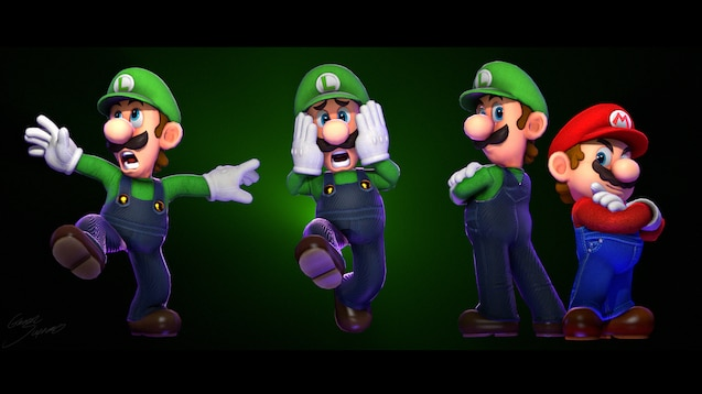 Steam Workshop :: Luigi (Super Mario Odyssey)