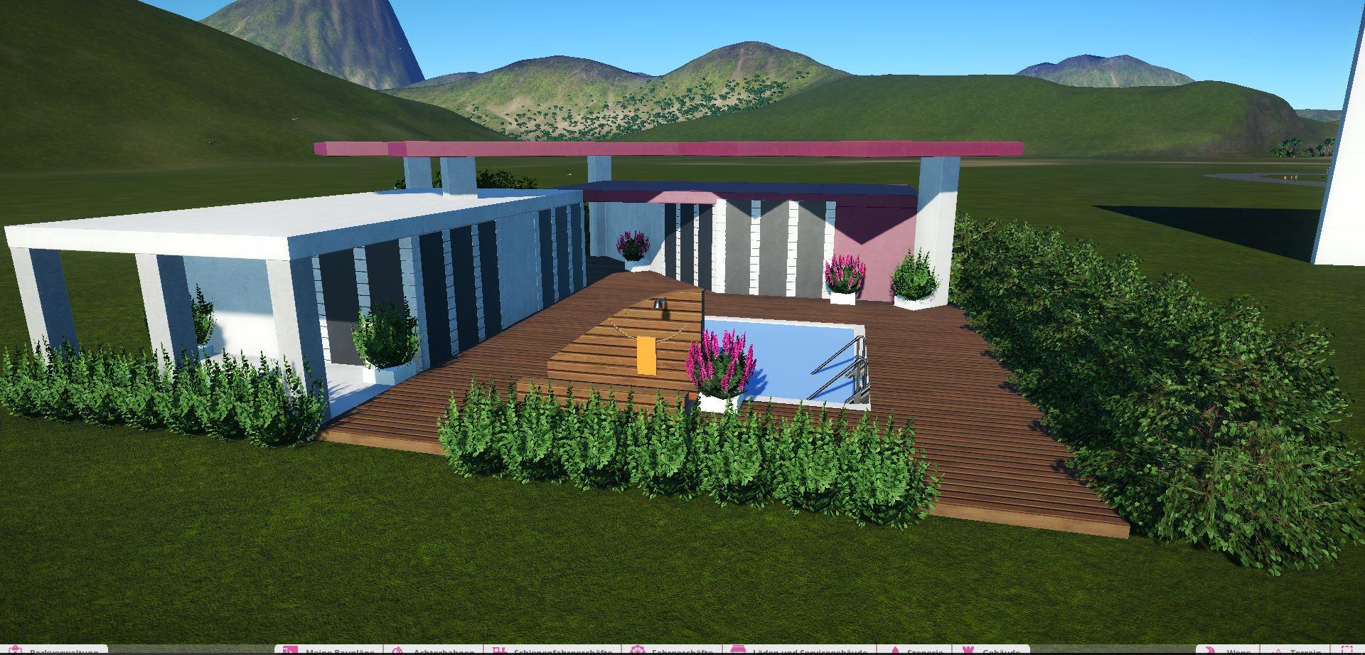 Steam Workshop :: Modernes Haus Mit Pool / Modern House With Swimmingpool